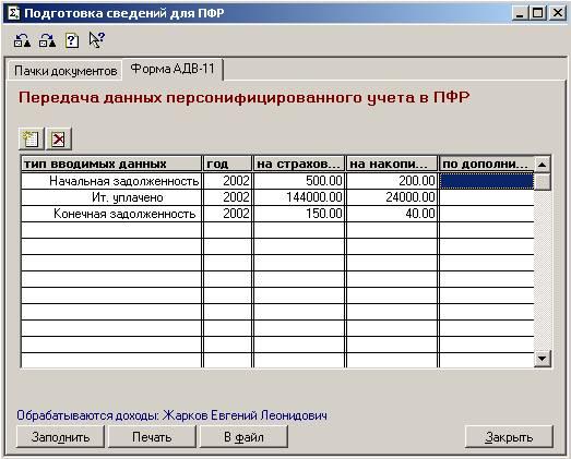 Бланки Отчетности за 2011 Год